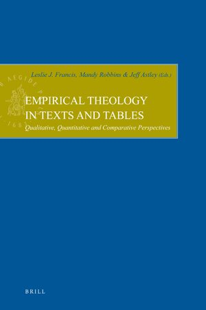 Cover Empirical Theology in Texts and Tables