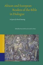 Cover African and European Readers of the Bible in Dialogue