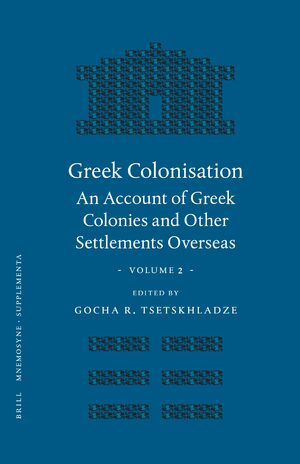 Cover Greek Colonisation
