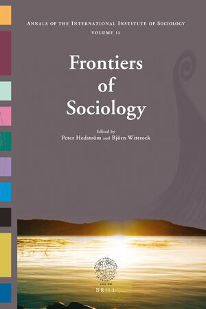 Cover Frontiers of Sociology