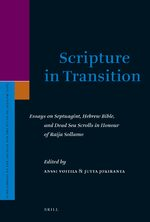 Scripture in Transition