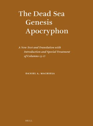 Cover The Dead Sea Genesis Apocryphon