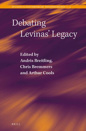 Cover Debating Levinas' Legacy