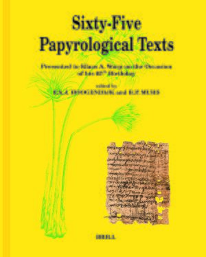 Cover Sixty-Five Papyrological Texts
