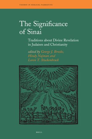 Cover The Significance of Sinai