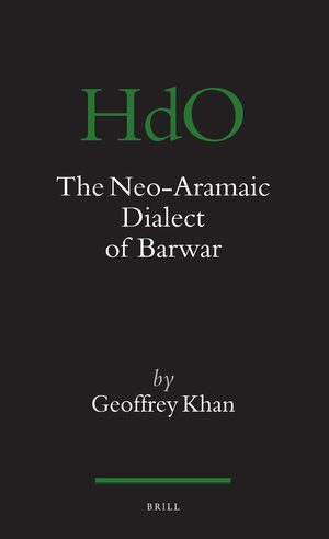 Cover The Neo-Aramaic Dialect of Barwar