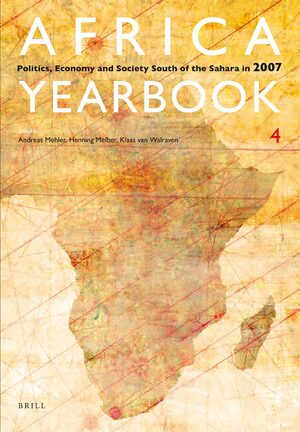Cover Africa Yearbook Volume 4