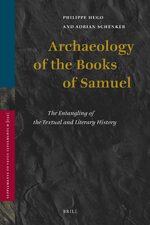 Cover Archaeology of the Books of Samuel