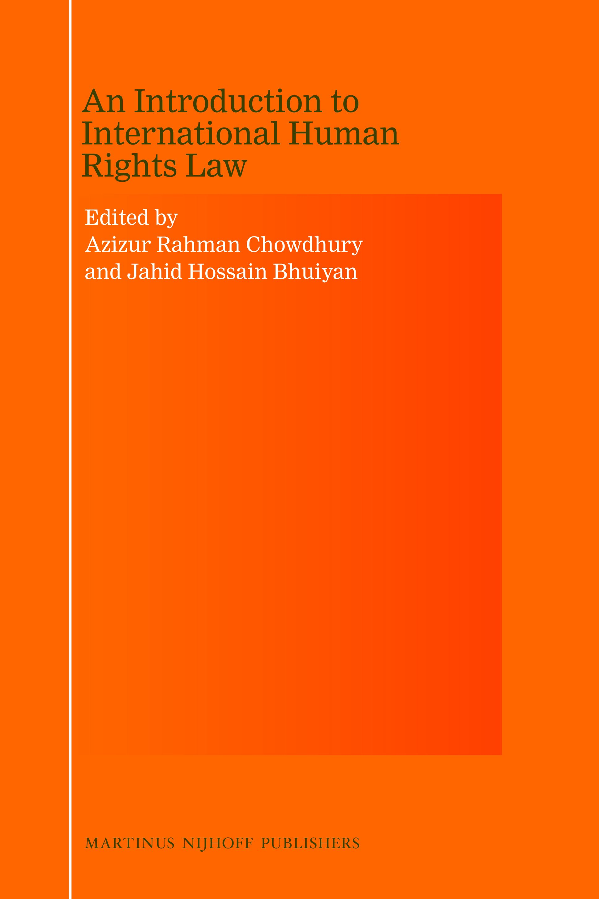 19+ An Introduction to International Human Rights Law   Brill Image