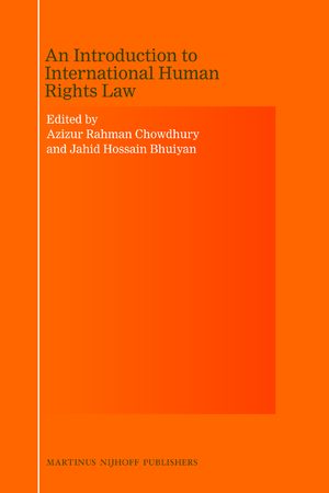 Cover An Introduction to International Human Rights Law