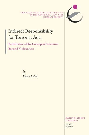 Cover Indirect Responsibility for Terrorist Acts
