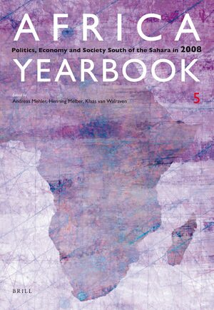 Cover Africa Yearbook Volume 5