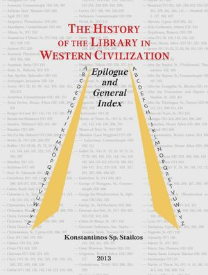 Cover The History of the Library in Western Civilization, Volume VI