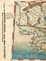 Cover Mapping Greece, 1420-1800: A History