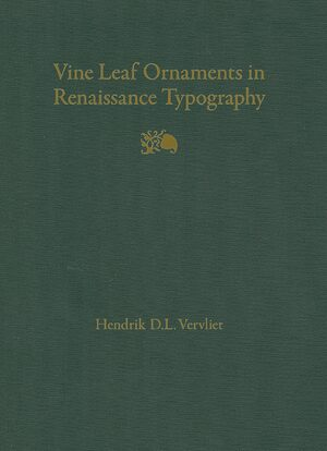 Cover Vine Leaf Ornaments in Renaissance Typography: A Survey