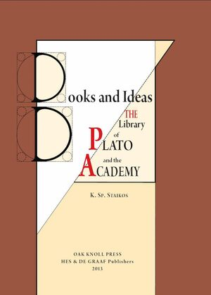 Cover Books and Ideas. The Library of Plato and the Academy
