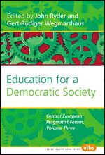 Cover Education for a Democratic Society