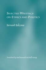 Cover Selected Writings on Ethics and Politics