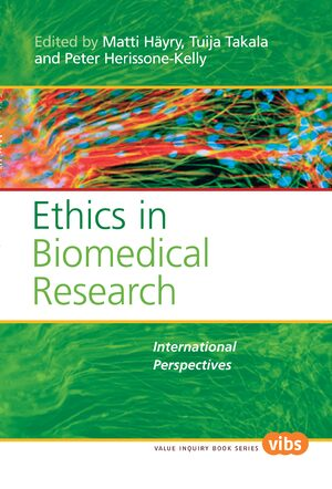 Cover Ethics in Biomedical Research