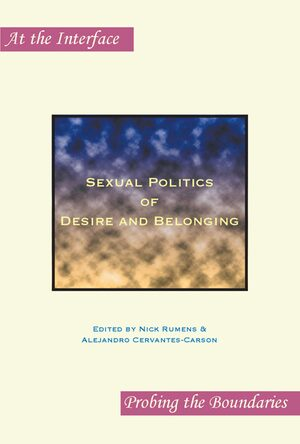 Cover Sexual Politics of Desire and Belonging