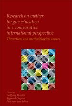 Cover Research on mother tongue education in a comparative international perspective