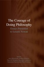 Cover The Courage of Doing Philosophy
