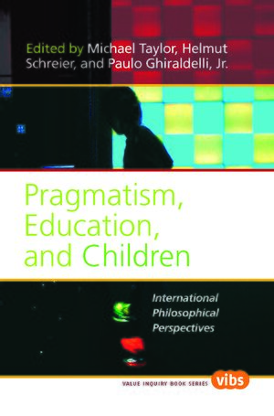 Cover Pragmatism, Education, and Children