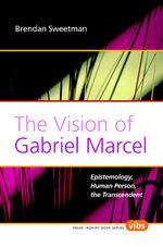 Cover The Vision of Gabriel Marcel