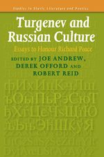 Cover Turgenev and Russian Culture