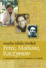 Cover Perec, Modiano, Raczymow