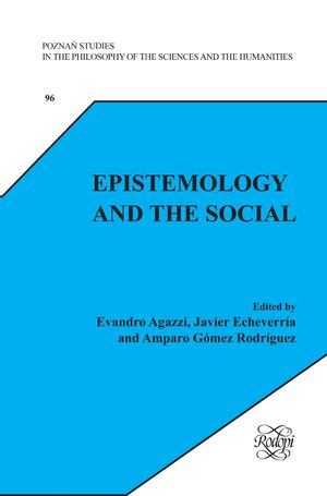 Cover Epistemology and the Social