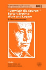 "Cover ""Verwisch die Spuren!"": Bertolt Brecht's Work and Legacy"
