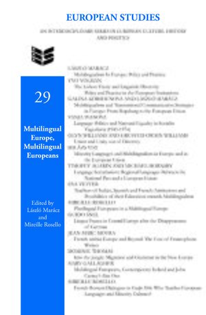 Cover Multilingual Europe, Multilingual Europeans