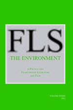 Cover The Environment in French and Francophone Literature and Film