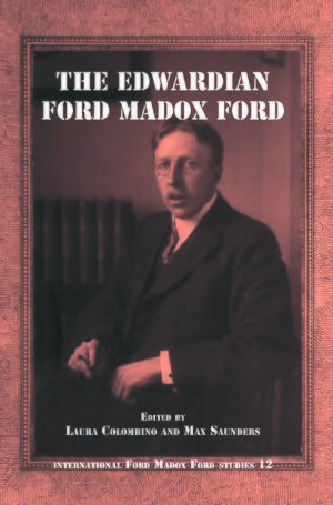 Cover The Edwardian Ford Madox Ford