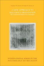 Cover A New Approach to Religious Orientation