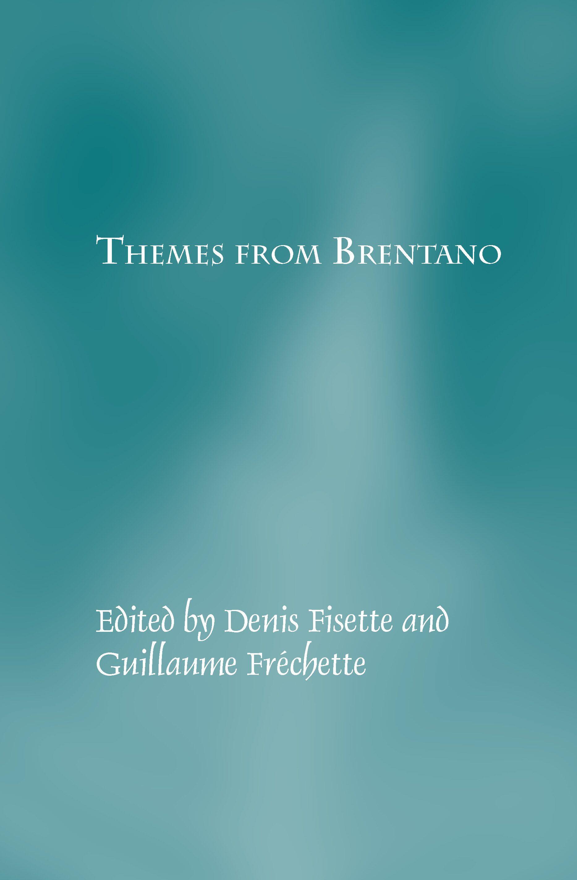 heidegger and brentano