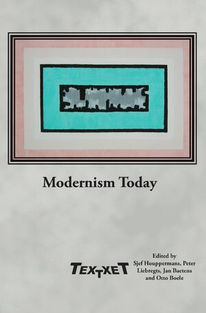 Cover Modernism Today