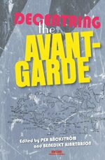 Cover Decentring the Avant-Garde