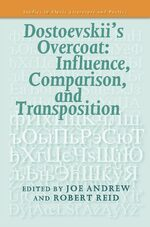 Cover Dostoevskii's Overcoat: Influence, Comparison, and Transposition
