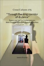 "Cover ""Through the long corridor of distance"""