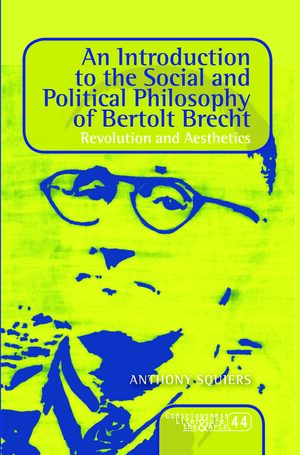 Cover An Introduction to the Social and Political Philosophy of Bertolt Brecht