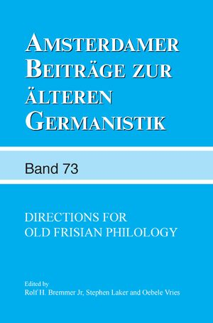 Cover Directions for Old Frisian Philology
