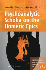 Cover Psychoanalytic Scholia on the Homeric Epics