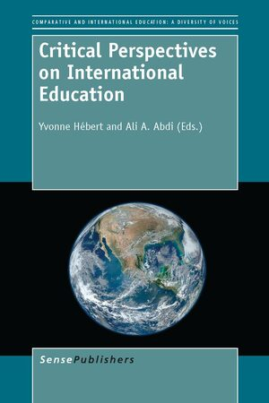 Cover Critical Perspectives on International Education