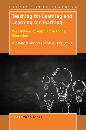 Cover Teaching for Learning and Learning for Teaching