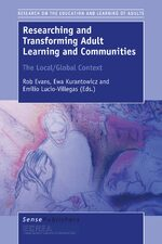 Cover Researching and Transforming Adult Learning and Communities: The Local/Global Context