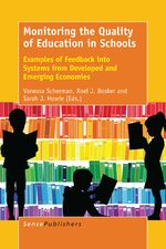 Cover Monitoring the Quality of Education in Schools