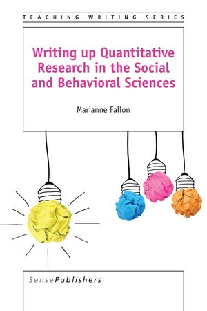 Cover Writing up Quantitative Research in the Social and Behavioral Sciences