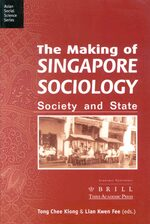 Cover The Making of Singapore Sociology